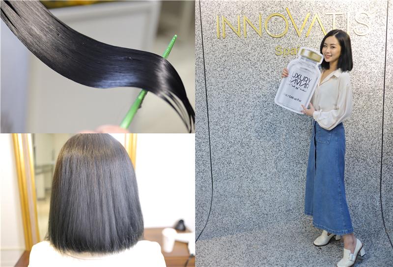 〖 頂級護髮療程 〗護一次抵兩次!西班牙品牌 Innovatis 奢華魚子菁華BTX頂級護髮療程真實心得 (27).jpg