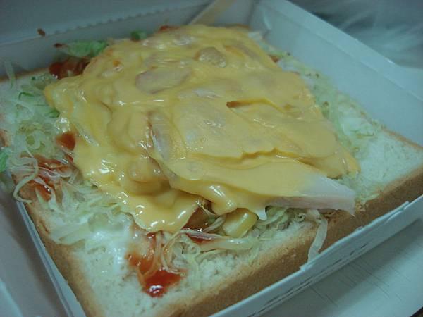 阿寶-燻雞起司厚片