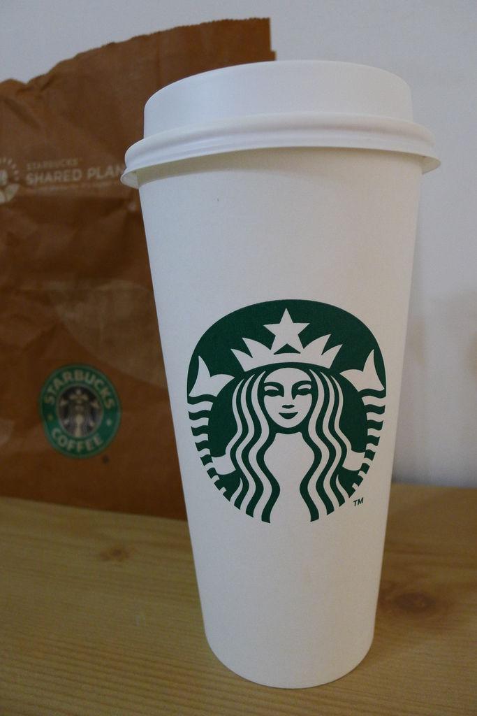 20111106星巴克之拿鐵特大杯加一份濃縮無脂牛奶 (3).JPG