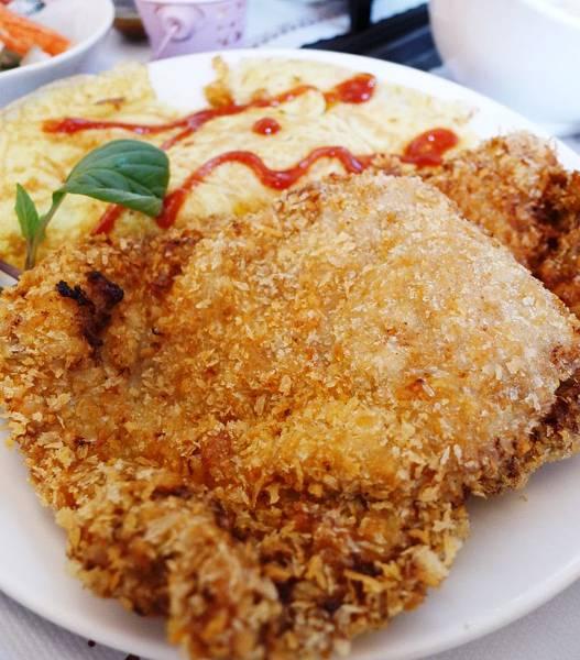 台南時光-藍帶豬排套餐