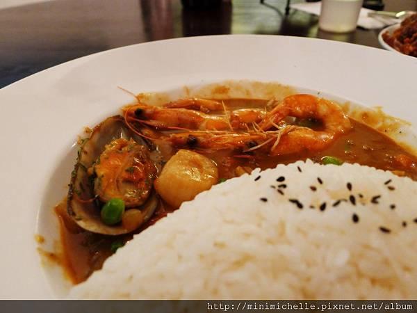 金色三麥-海鮮咖哩飯