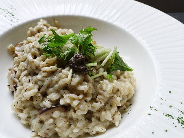 水相-野菇鮮蔬燉飯