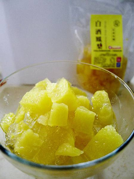 夢想果酒釀鮮果-白酒鳳梨