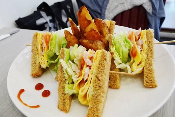 Carat-總匯三明治