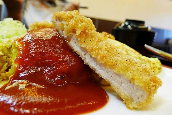 豐之味-厚切豬排蛋包飯