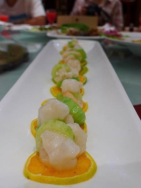 東阿阿膠上品宴-玉帶蝦球