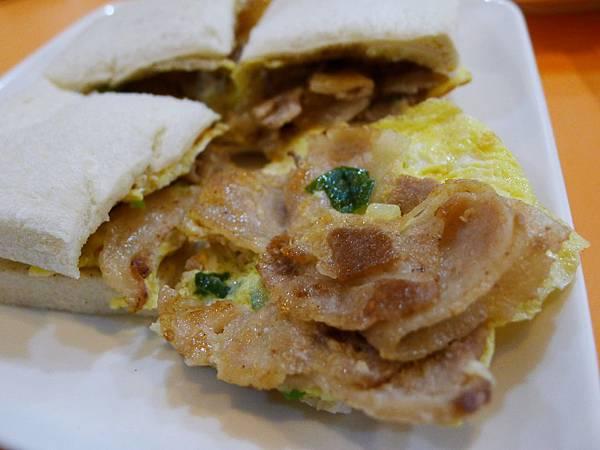 雪花豬肉吐司2