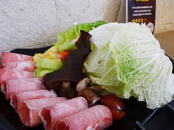 八月江南燒-598菜盤、自然梅花豬
