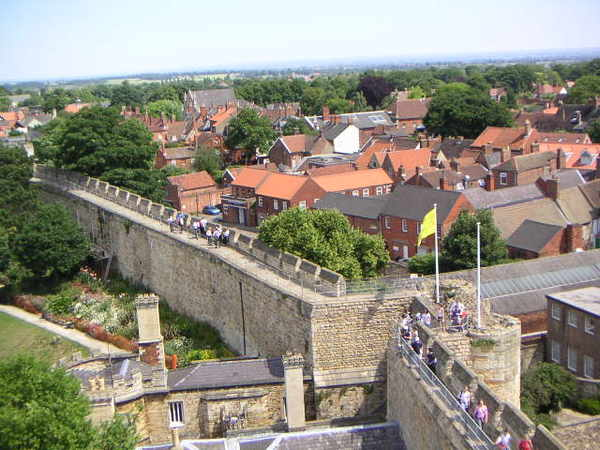 由城堡俯瞰