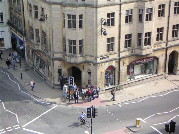 學術殿堂的街角