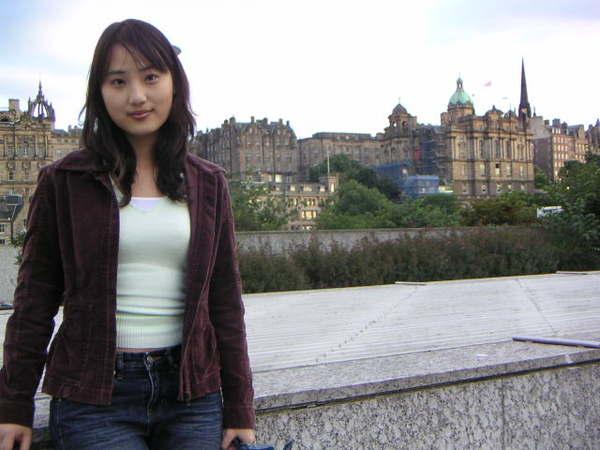 天漸暗的愛丁堡