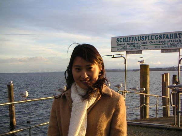 冬日的碼頭