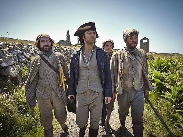 Poldark-with-Mine-Workers