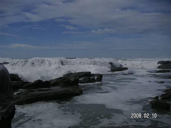 當天其實浪很大~驚驚