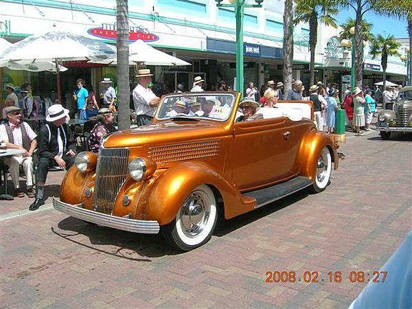 NZ粉多這樣色彩鮮艷的車