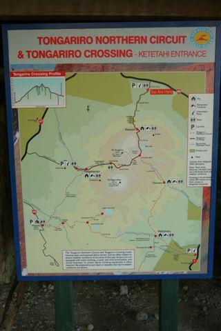 Tongoriro 路線圖