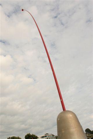 New Plymouth 地標 ,會隨風向移動