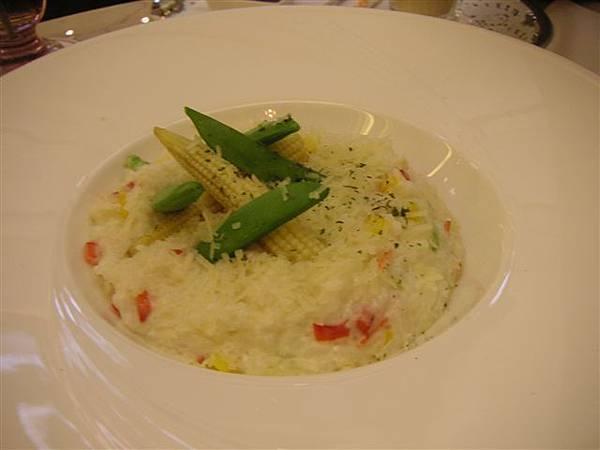 白醬蔬菜焗飯