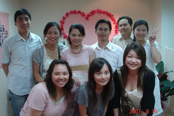 恭喜李先生VS張小姐結婚