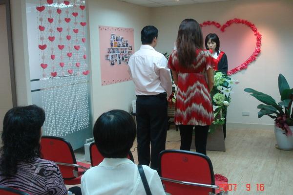 恭喜李先生VS吳小姐結婚