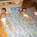 三人家中睡相2009/07/02