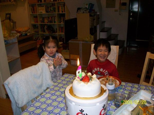 哥哥4歲生日