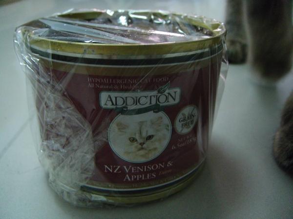 ˙貓版正妹送我的加菜罐頭˙