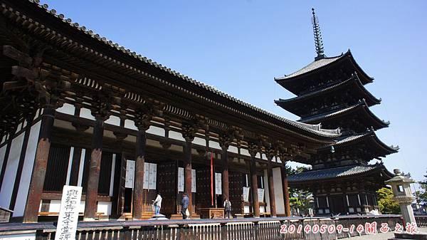 D2。奈良興福寺+五重塔