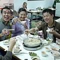 賽後吃大餐-長白酸菜白肉鍋