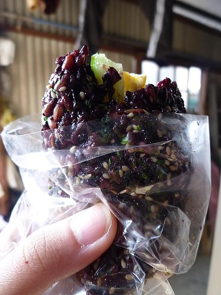 紫米飯糰(素)