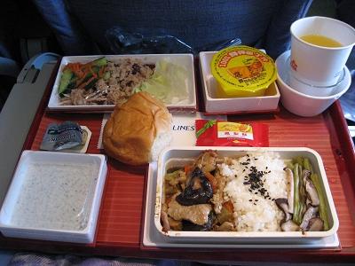 飛機餐:雞肉飯
