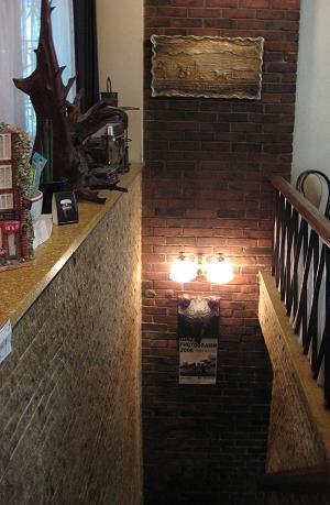 地下室是攝影或藝文展