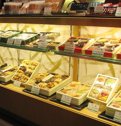 松崎煎餅內的各式手燒煎餅