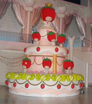 最愛的草莓蛋糕 >///<