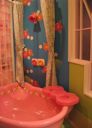 這麼可愛的浴缸...洗澡心情一定很好