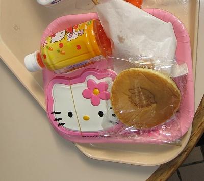 午餐:Kitty便當