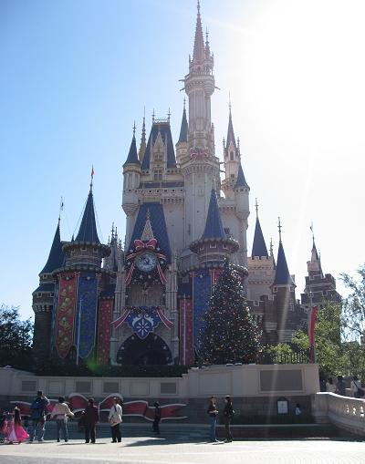 可惜逆光,城堡拍不好