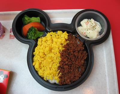 小姪女的Mickey飯
