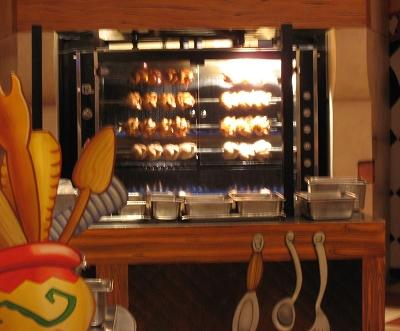 烤雞烘呀烘,看了都餓