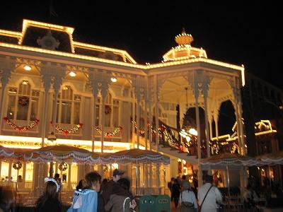 晚上的Main Street