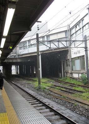 在東京的最後一天下雨了 QQ