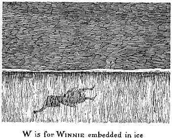嵌在冰裡的Winnie