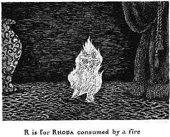 被火燒死的Rhoda