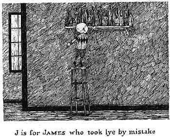 誤拿鹼液的James