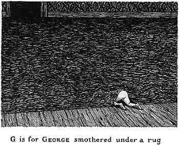 地毯下窒息的George
