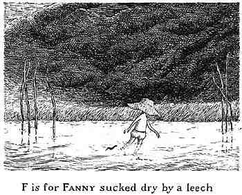 被水蛭吸乾的Fanny