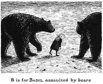 被熊攻擊的Basil
