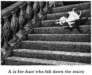 跌下樓的Amy