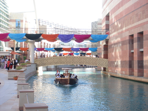 Dubai Festival City 之戶外運河