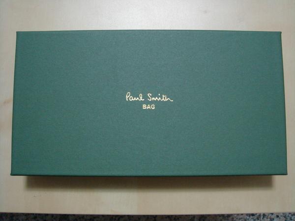裝Paul Smith長夾的紙盒